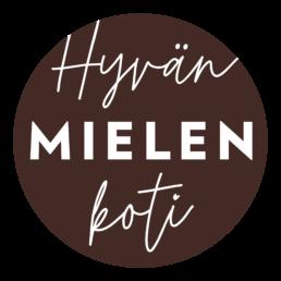 Hyvän mielen koti logo - Maaretta Tukiainen